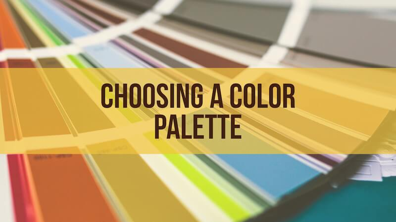 choosing a color palette