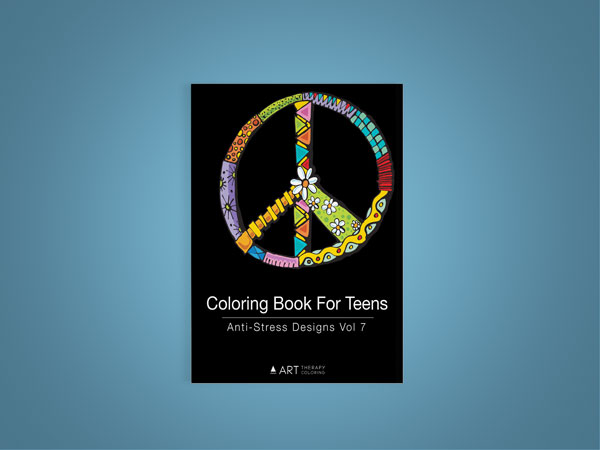 coloring book for teenagers