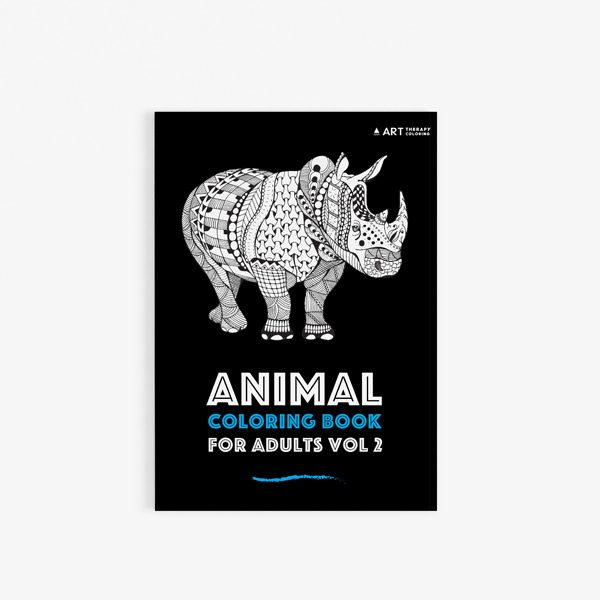 Animal coloring book adults vol 2 30