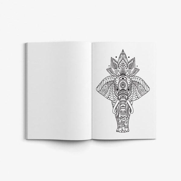 Animal coloring book adults vol 2 45