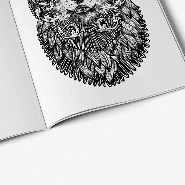 Animal coloring book adults vol 2 50