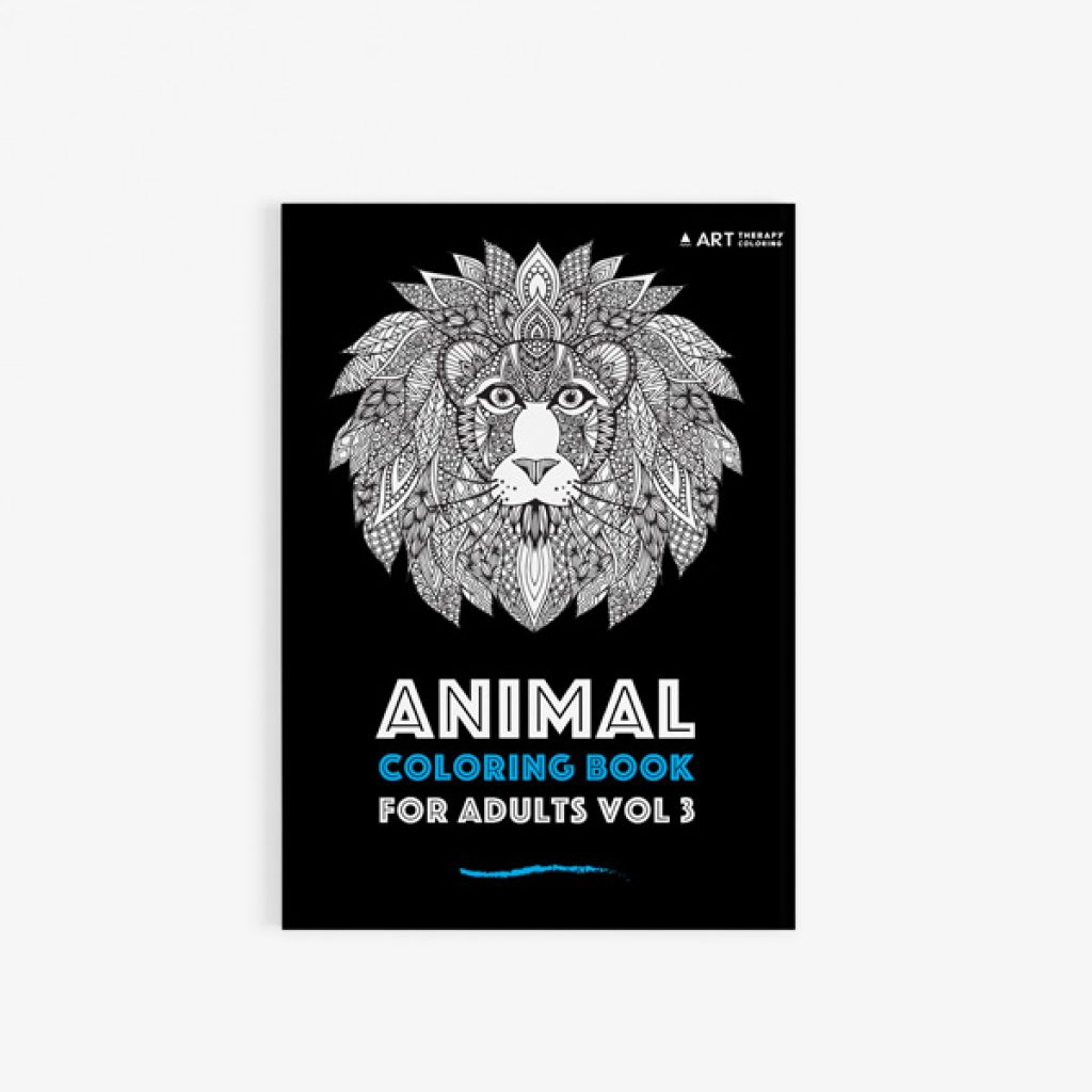 Animal coloring book adults vol 3 30