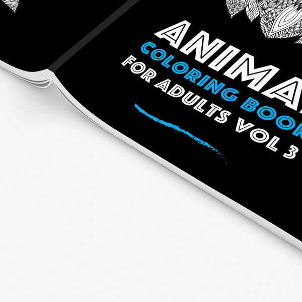 Animal coloring book adults vol 3 34