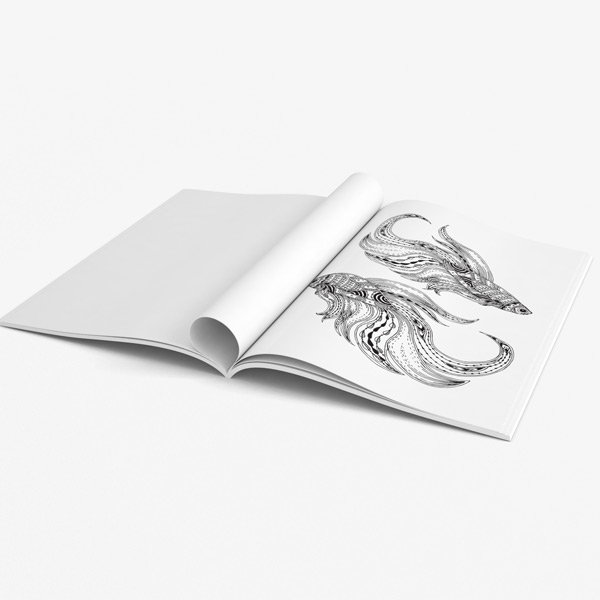 Animal coloring book adults vol 3 43