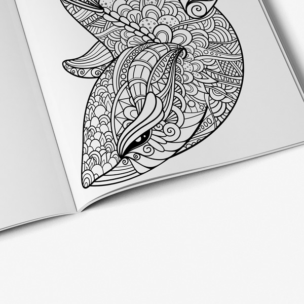 Animal Coloring Book Adults Vol 4 42