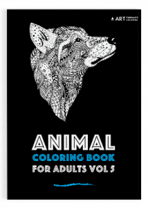 Animal coloring book adults vol 5