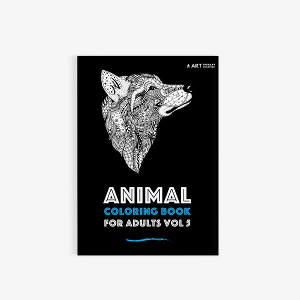 Animal coloring book adults vol 5 30