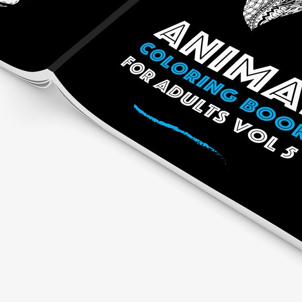 Animal coloring book adults vol 5 34