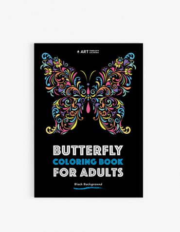 Butterfly coloring book for adults30