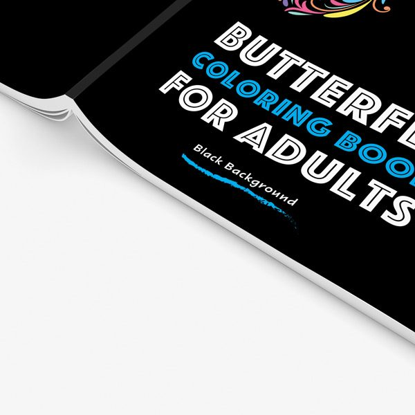 Butterfly coloring book for adults34