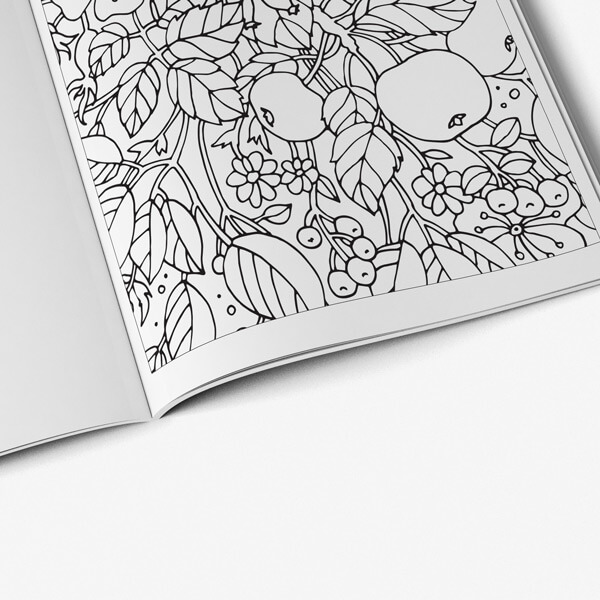 Coloring book for seniors vol 4 coloring page 42