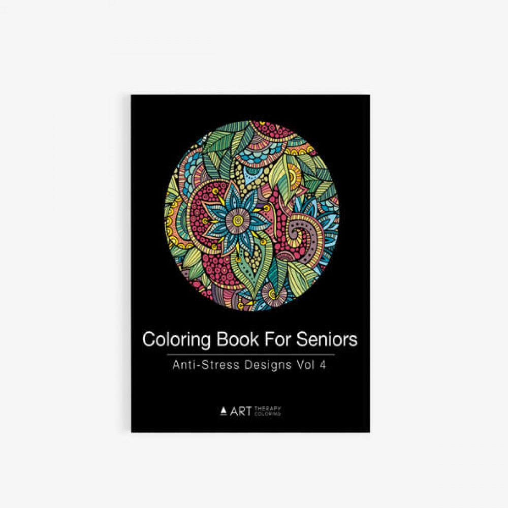 coloring book for seniors vol 4 cover 30 - Coloring Books For Seniors