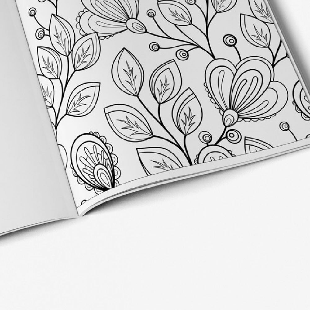 Coloring Book For Seniors Nature Vol 1 Page 08