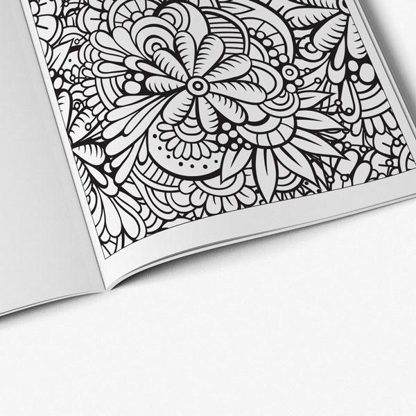 Coloring book for seniors ocean designs vol 1 page 06