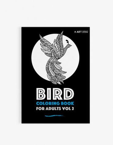 Birds coloring book vol 2 cover