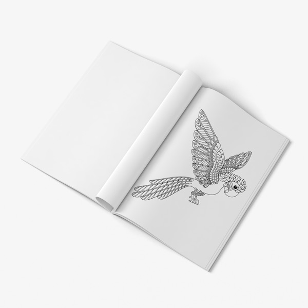 Birds coloring book vol 2 37
