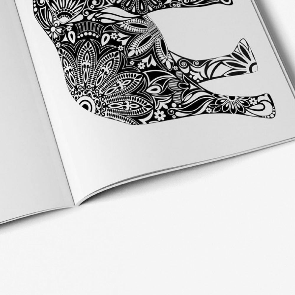 animal coloring book for teens vol 2 53