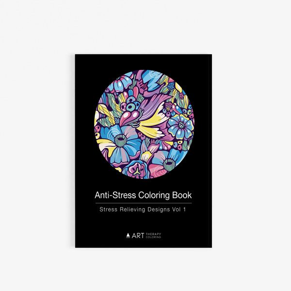 Anti stress designs coloring book vol 1 30