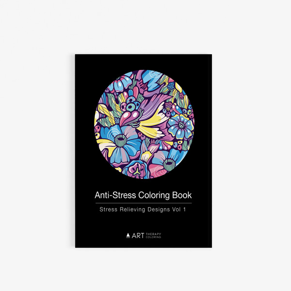 Anti Stress Coloring Book Relieving Designs Vol 1