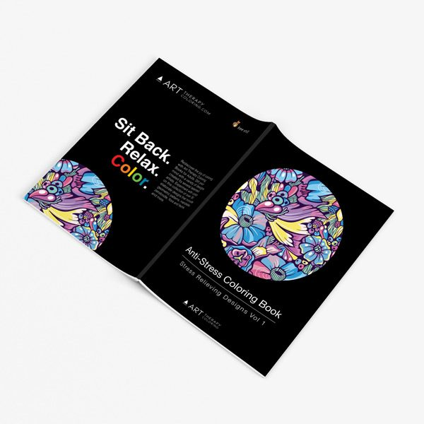 Anti stress designs coloring book vol 1 32