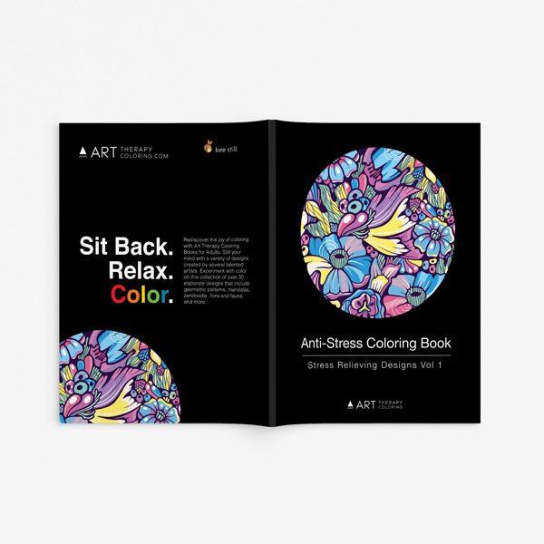 Anti stress designs coloring book vol 1 33