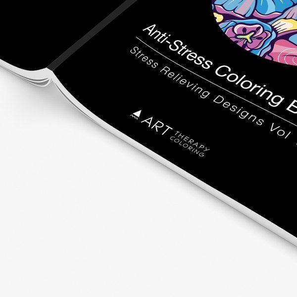 Anti stress designs coloring book vol 1 34