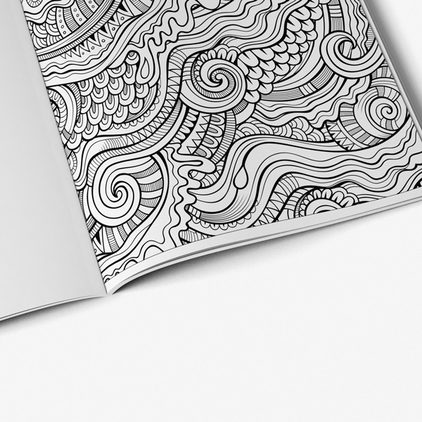 Anti Stress Coloring Book Stress Relieving Designs Vol 1