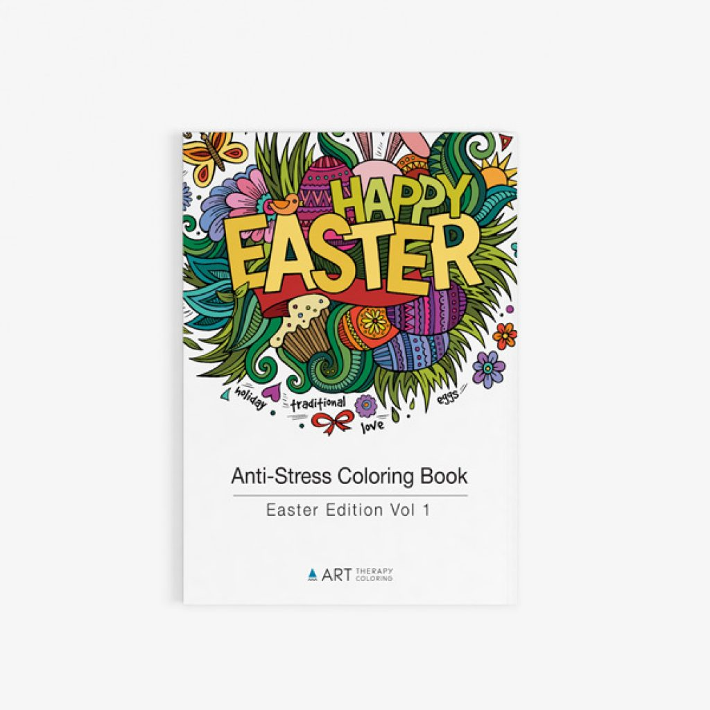 Anti stress easter coloring book 30