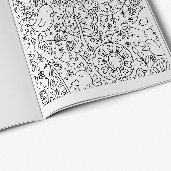Anti stress easter coloring book 37
