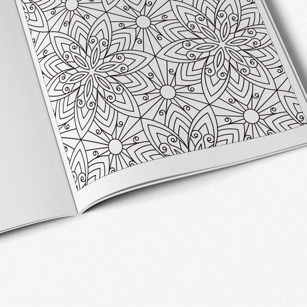 Anti stress easter coloring book 50
