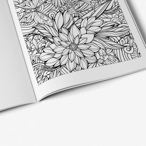 Butterfly coloring book for teens - Art Therapy Coloring