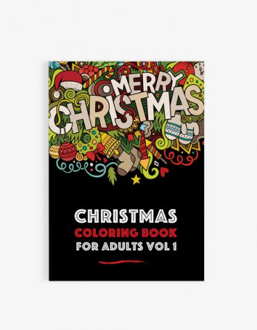 Christmas coloring book adults vol 1 30