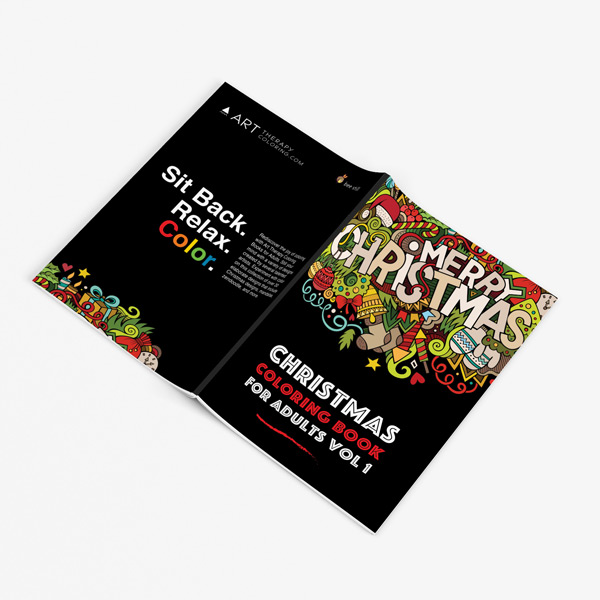 Christmas coloring book adults vol 1 32