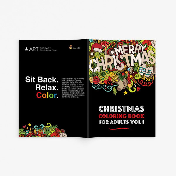 Christmas coloring book adults vol 1 33