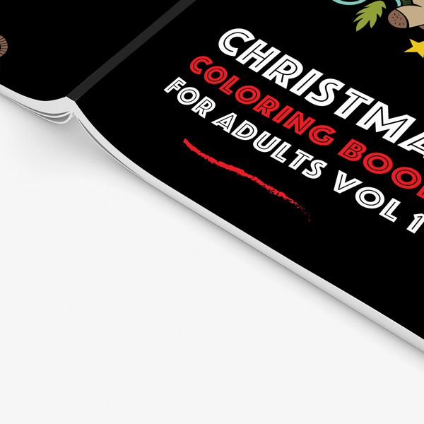 Christmas coloring book adults vol 1 34