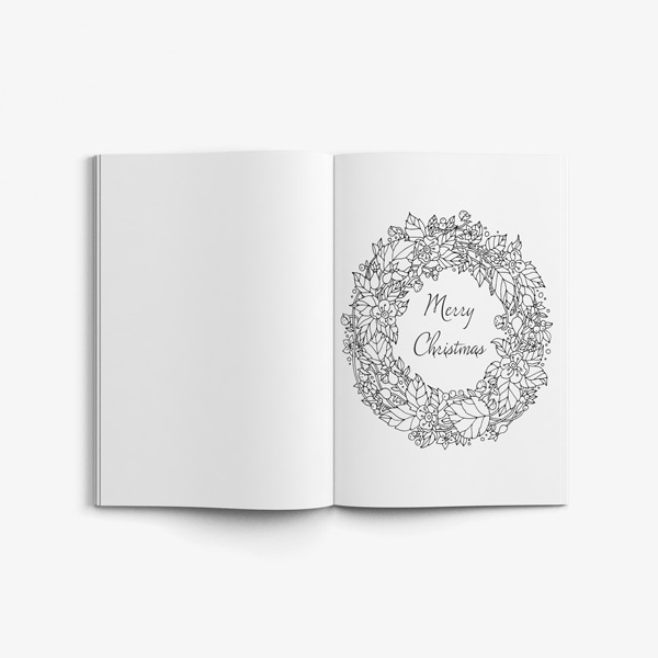 Christmas coloring book adults vol 1 41