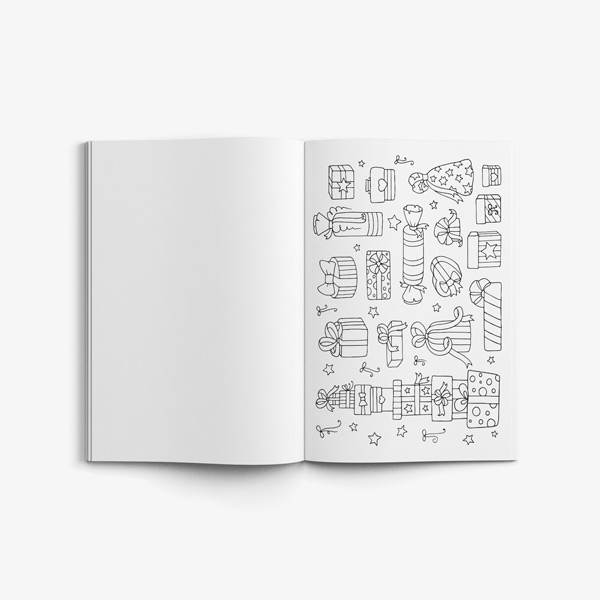 Christmas coloring book adults vol 1 45