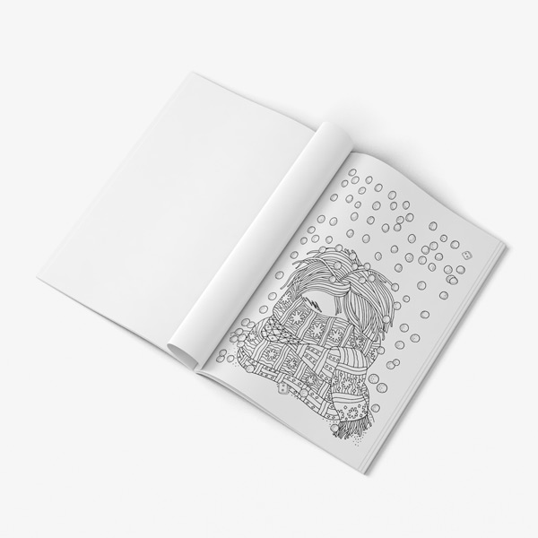 Christmas coloring book adults vol 1 48