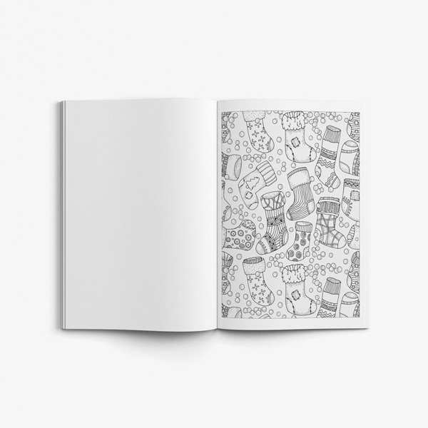 Christmas coloring book adults vol 1 53