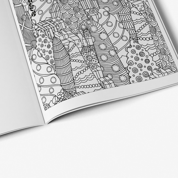 Christmas coloring book adults vol 1 58
