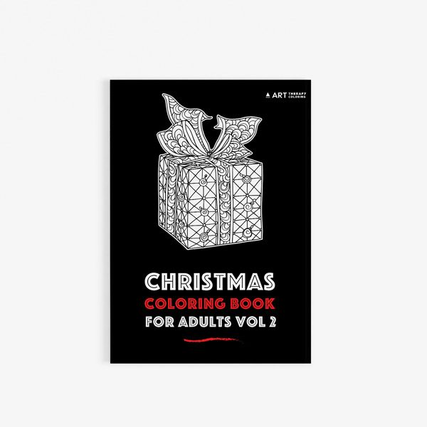 Christmas coloring book adults vol 2 30