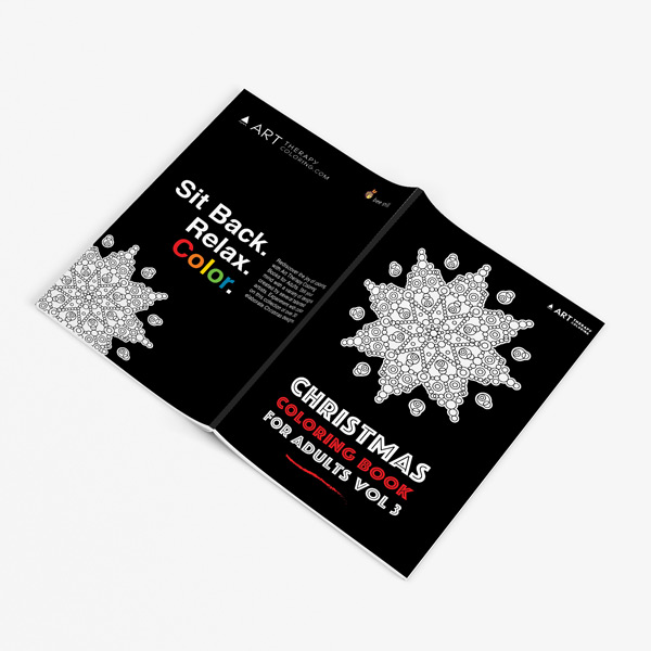 Christmas coloring book adults vol 3 32
