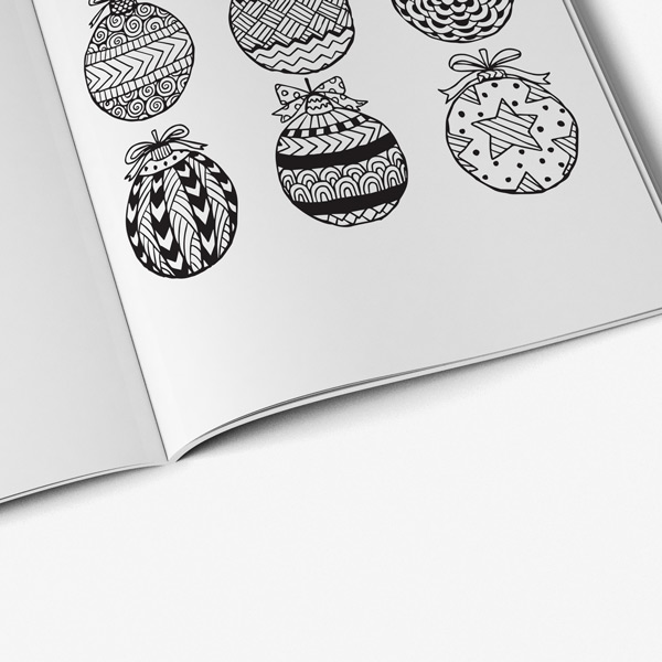 Christmas coloring book adults vol 3 58