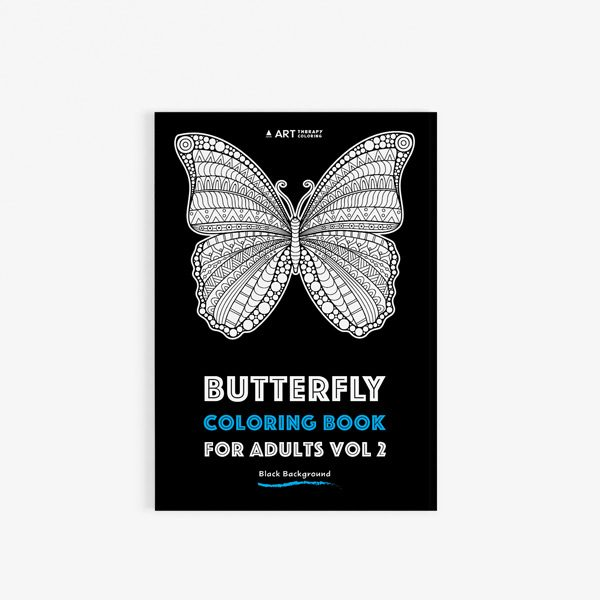 Coloring book adults butterflies vol 2 30