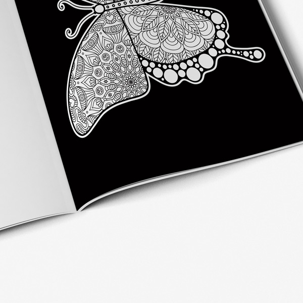 Coloring book adults butterflies vol 2 49