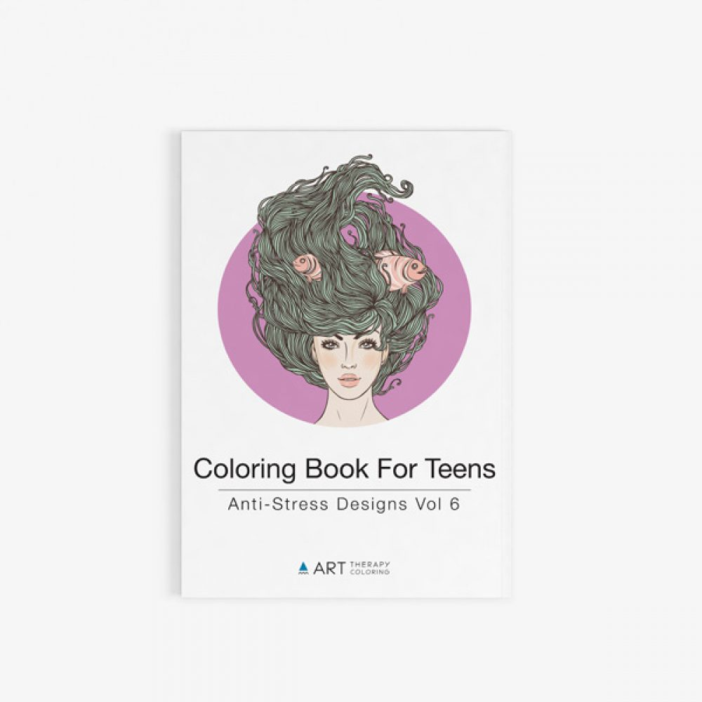 the terrific colouring book for teens a really relaxing colouring