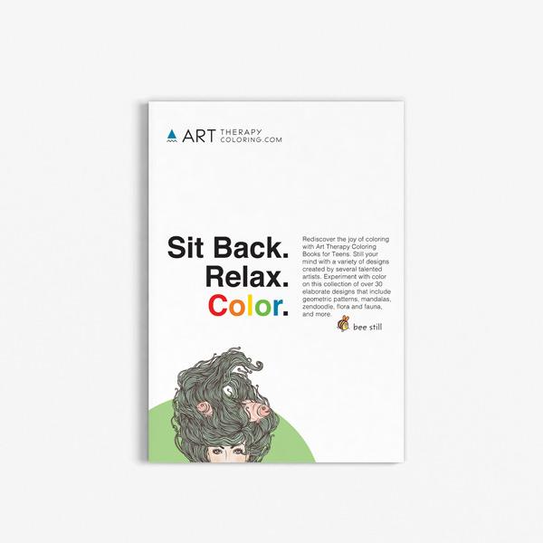 coloring book for teens anti stress designs vol 6