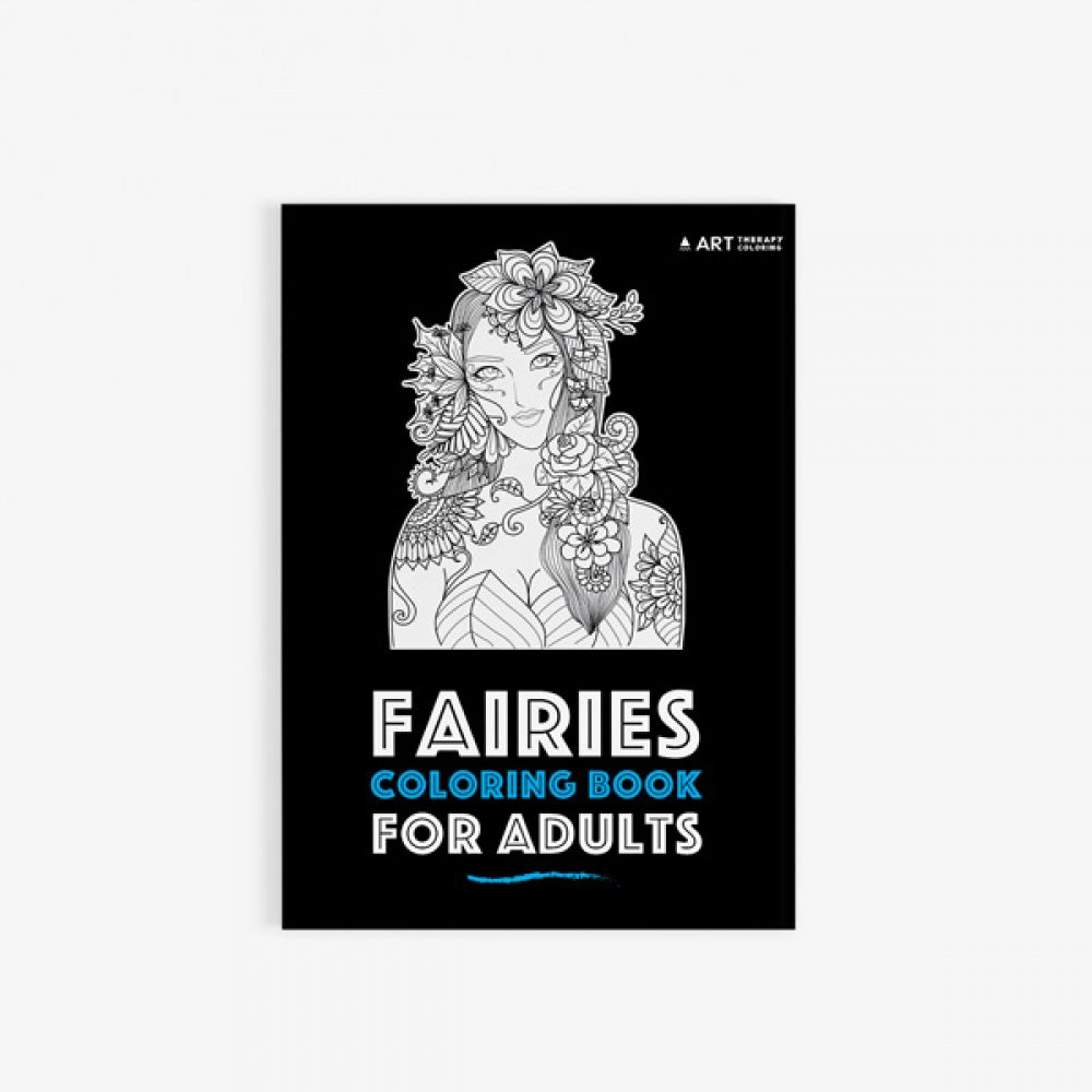 fairy coloring books for adults 30 - Fairy Coloring Books For Adults