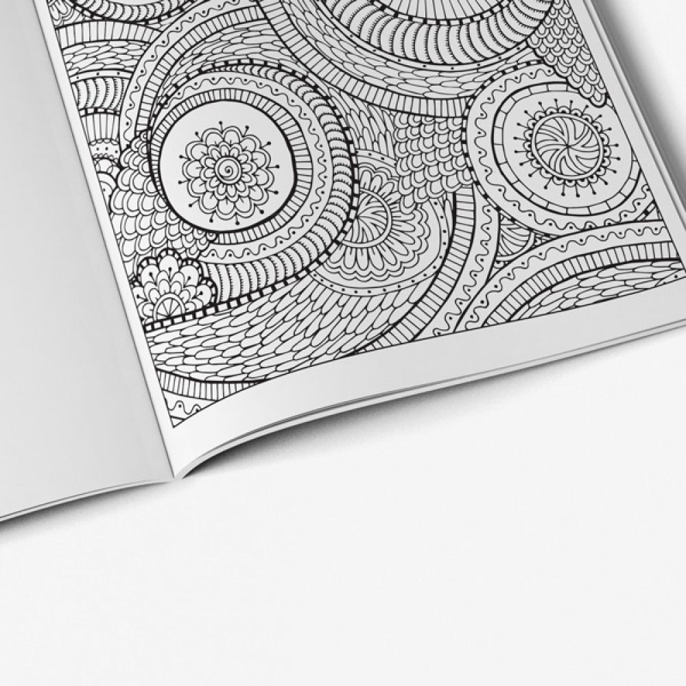 intricate coloring book adults vol 1 53 - Intricate Coloring Books