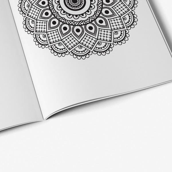 Mandala Coloring Book For Seniors 38